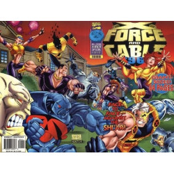 X-Force and Cable Annual  Issue 1996