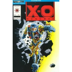 X-O Manowar Vol. 1 Issue 07