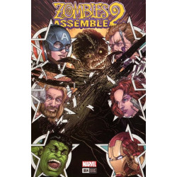 Zombies Assemble Issue 4b Variant