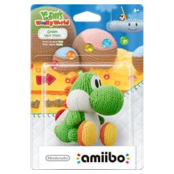 Green Yarn Yoshi - Yoshi's Wooly World Amiibo