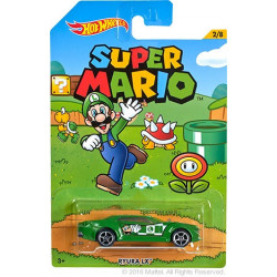 Hot Wheels 2016 - Super Mario Bros - Luigi Ryura LX 1:64