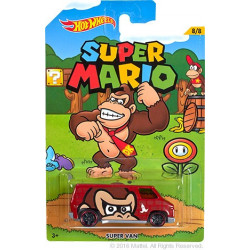 Hot Wheels 2016 - Super Mario Bros - Donkey Kong Super Van 1:64