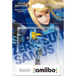 Zero Suit Samus Super Smash Bros. Amiibo