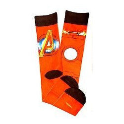 Marvel Avengers Iron Man Crew Sock
