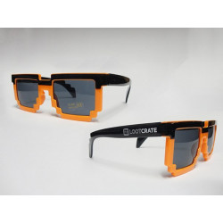8-bit Pixel Gamer Sunglasses