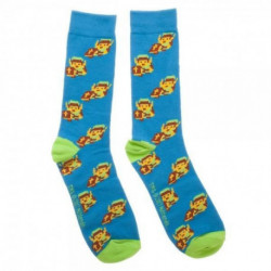 Legend of Zelda - 8-bit Link - Crew Socks