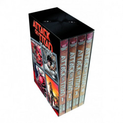 Attack on Titan: The Beginning Box Set - Volumes 1-4