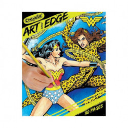 Crayola: Art with Edge -Wonder Woman Collection - Adult Coloring