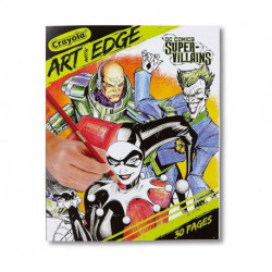 Crayola: Art with Edge -DC Villains - Adult Coloring