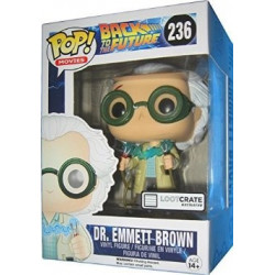 Funko POP! Movies 236 - Back to the Future - Dr. Emmett Brown