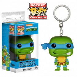 Funko Pocket POP! Television - Teenage Mutant Ninja Turtles - Leonardo Keychain
