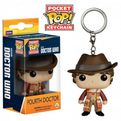 Funko Pocket POP! Television - Doctor Who - Fourth Doctor Keychain