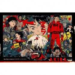 Anime Movie Poster - Akira - EXPLODE
