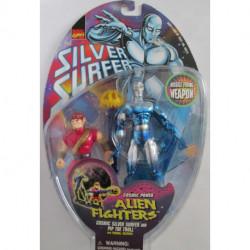 Silver Surfer Alien Fighters: Cosmic Silver Surfer w/ Pip the Troll