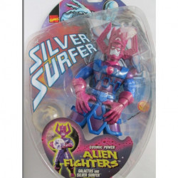 Silver Surfer Alien Fighters: Galactus w/ Silver Surfer in Cosmic Orb