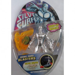 Silver Surfer Cosmic Power Blasters: Silver Surfer w/ Cosmic Star Blaster